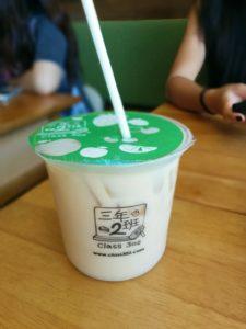 Jasmine green milk tea