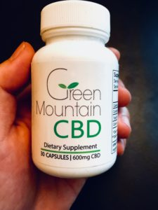 Green Mountain CBD Bottle