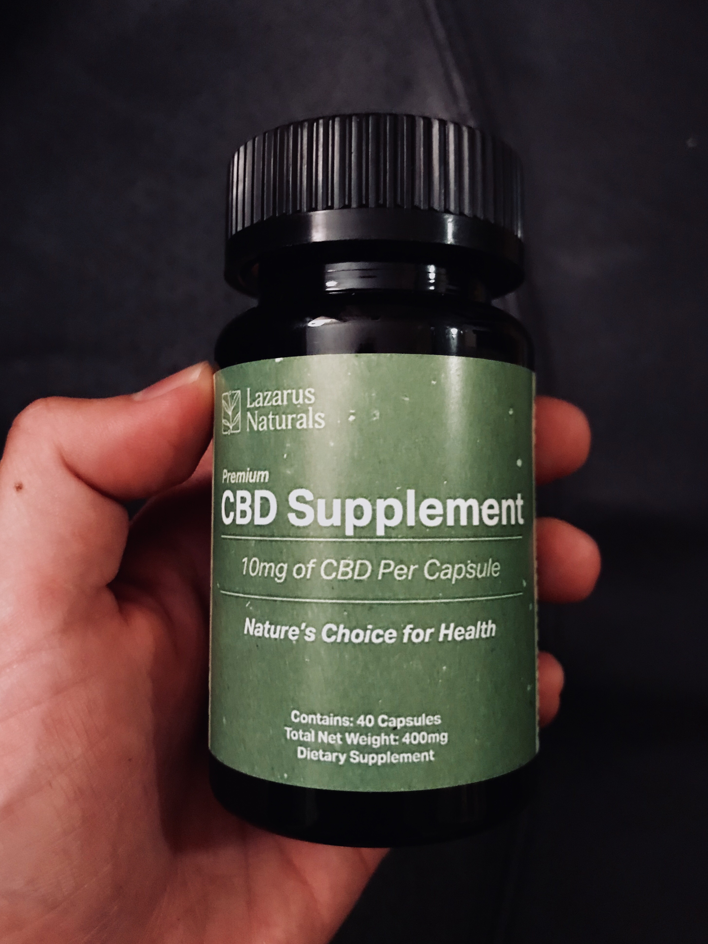 Lazarus Naturals CBD Helped My Insomnia | Consider The Product